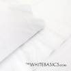 Colección Niza - Percal blanco 250 hilos de algodón peinado