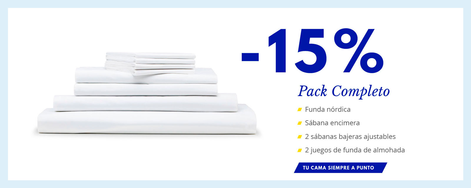 descuento pack completo The White Basics